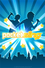 PocketSing Karaoke App free HD wallpaper lock screen iphone